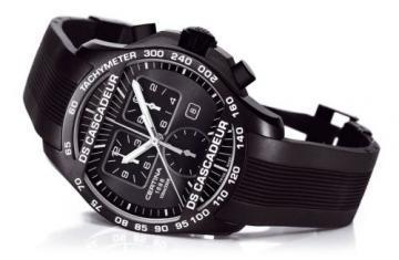 Certina DS Cascadeur chronograph black