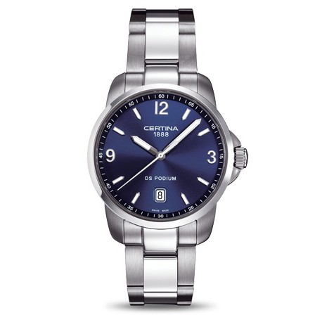 Certina DS Podium watch blue