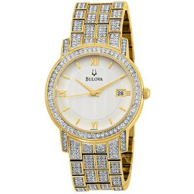 Bulova Crystal 98B009 watch