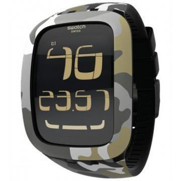 Swatch Touch Camouflage wristwatch