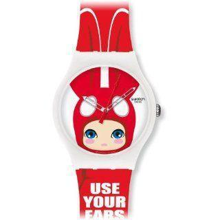 Swatch Originals Use Your Ears wristwatch