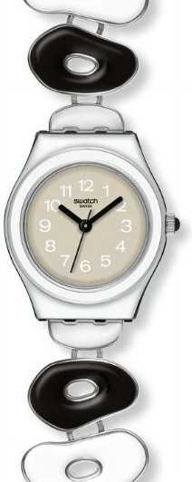 Swatch Irony Pinussina Black and White  wristwatch