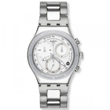 Swatch Irony Oblique End White chronograph