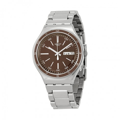 Swatch Irony Burgundy Decency wristwatch