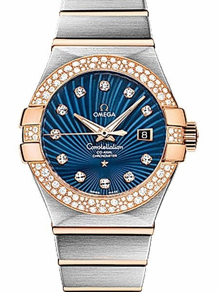 Omega Constellation Brushed Chronometer for Ladies