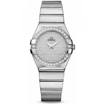 Omega Constellation Brushed Quartz for Ladies