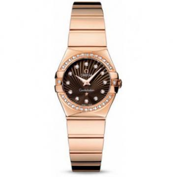 Omega Constellation Polished Quartz for Ladies