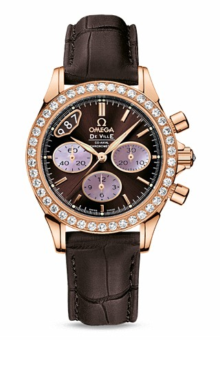 Omega De Ville Co-Axial Chronograph for Ladies