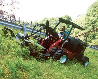 Power Trac TSM Class PT-1845 Slope Mower