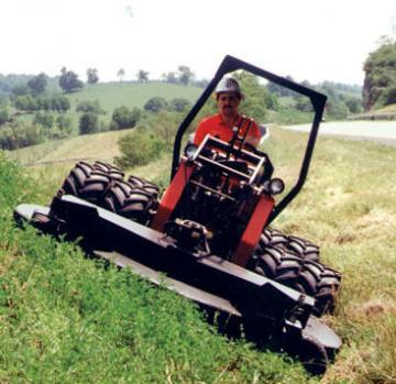 Power Trac TSM Class PT-1850 Slope Mower