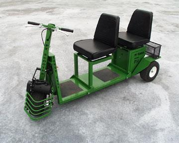Power Trac PT-2 Scooter Utility Vehicle