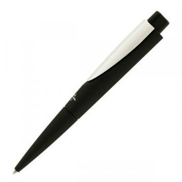 Fisher Black Rubber finish Wedge Space Pen