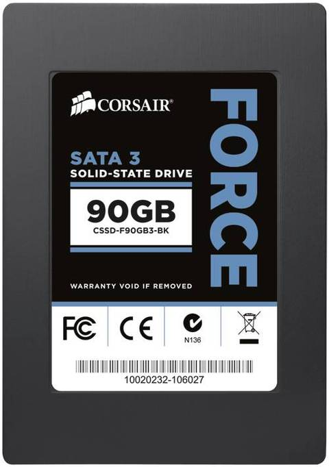 Corsair SSD Force Series 90GB SATA3 MLC