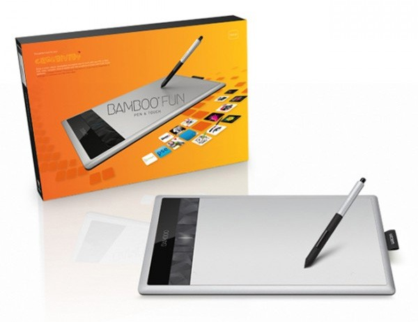 Wacom Bamboo Pen & Touch Fun Medium Tablet