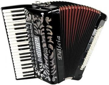 Delicia CHORAL 24 MIDI Piano Accordion