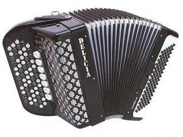 Delicia SONOREX 19 Button Accordion
