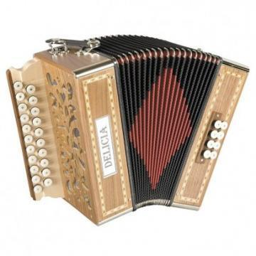 Delicia POPULAR 1914 Diatonic Accordion
