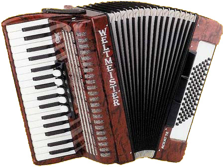 Weltmeister Achat Piano Accordion