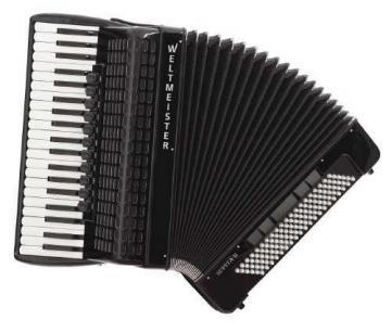 Weltmeister Supita II Piano Accordion