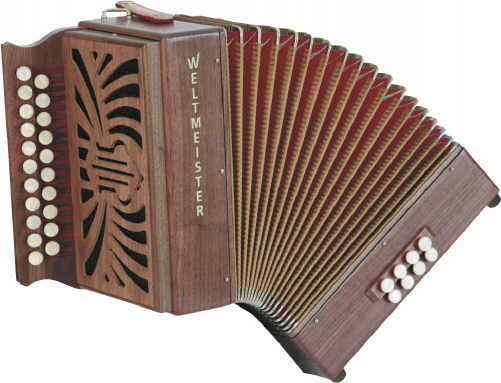 Weltmeister 516 Diatonic Accordion
