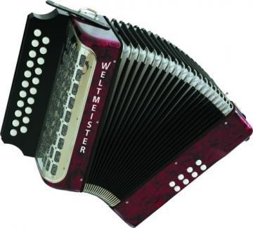 Weltmeister Wiener 406 Monika Diatonic Accordion