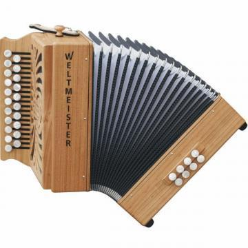 Weltmeister Wiener 511 Diatonic Accordion
