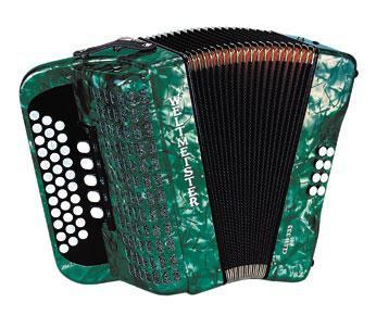 Weltmeister Club harmonica 333 Diatonic Accordion