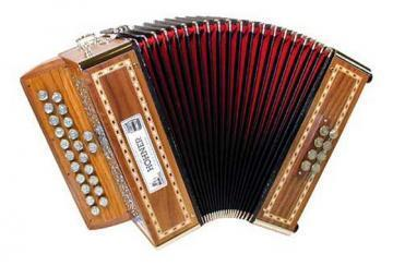 Hohner Merlin Diatonic Accordion