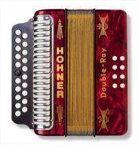 Hohner Erica Double Ray Diatonic Accordion