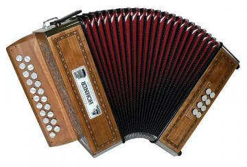 Hohner Morgane Diatonic Accordion