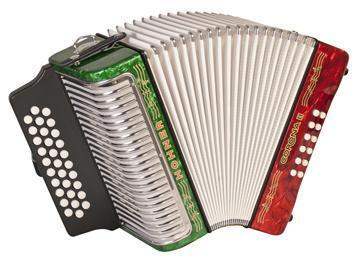 Hohner Corona III Diatonic Accordion
