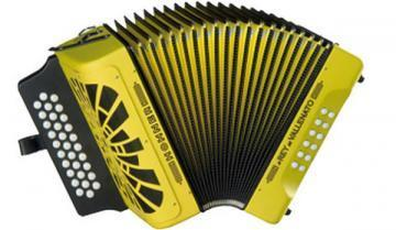 Hohner El Rey Del Vallenato Diatonic Accordion