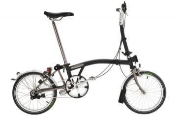 Brompton M3L-X Folding Bicycle