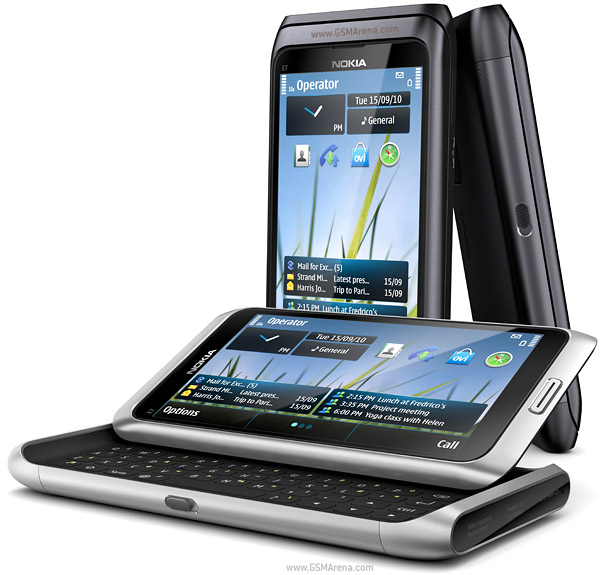 Nokia E7 cell phone