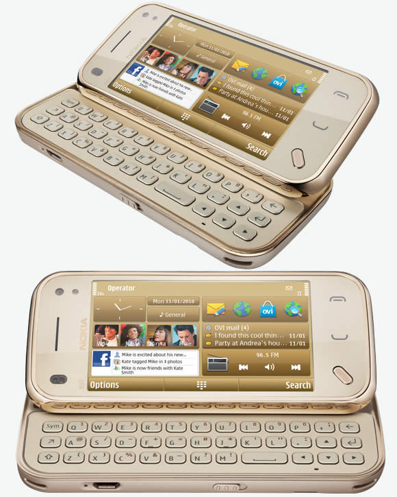 Nokia N97 Mini Gold Edition