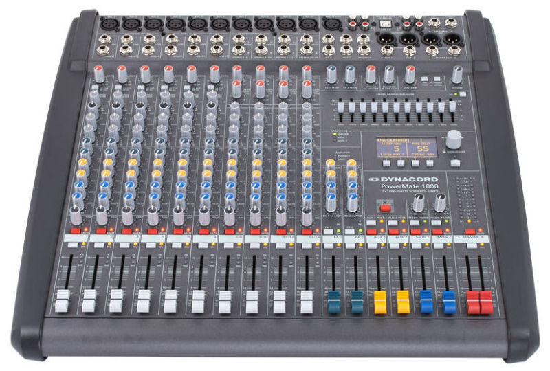 Dynacord Powermate 1000-3 audio mixer