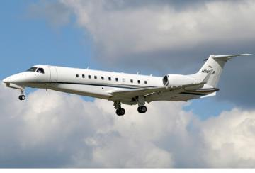 Embraer Legacy 600 business jet