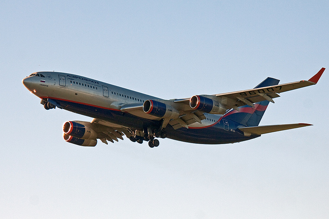 Ilyushin Il-96 four-engine jet airliner