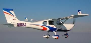 Jabiru J170C light aircraft