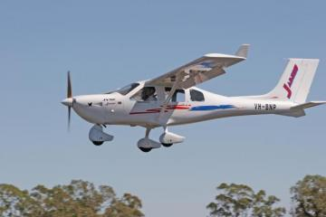 Jabiru J430 light aircraft