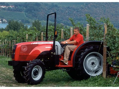 Massey Ferguson 3635 80hp Vineyard / Special / Fruit / Ground Effect tractor