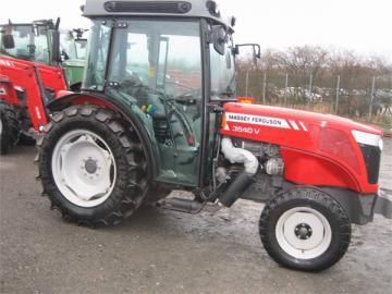 Massey Ferguson 3640 84hp Vineyard / Special / Fruit / Ground Effect tractor