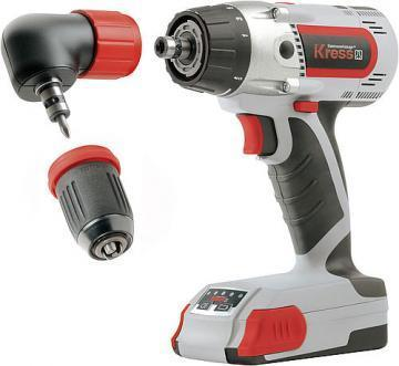 Kress 2-speed cordless screwdriver 180 AFB 3.0 Set II