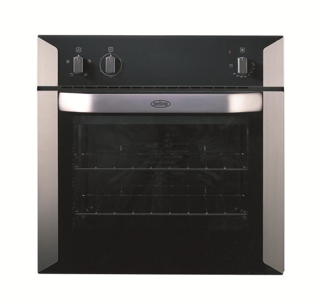 Belling BI60F 60cm built-in electric fanned oven with minute minder