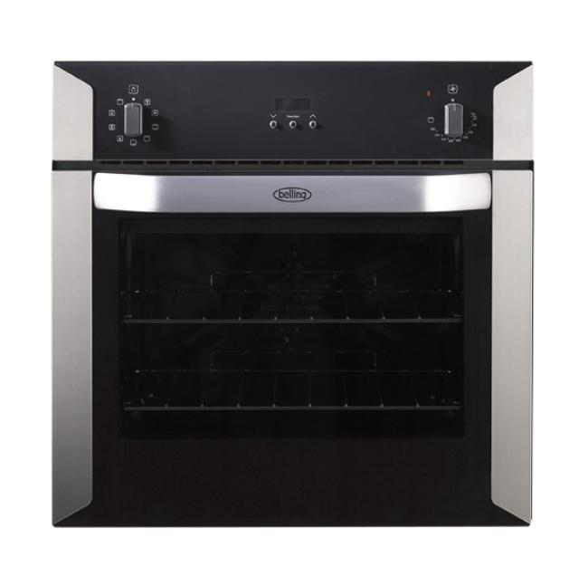 Belling BI60MF 60cm built-in electric multifunction oven with programmable timer