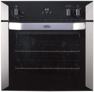 Belling BI60i 60cm built-in electric fanned with integrated induction plate