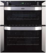 Belling 70cm built-under gas double oven with programmable timer