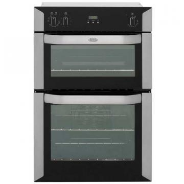 Belling BI90FP 90cm built-in electric double oven with programmable timer