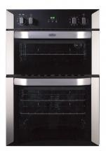 Belling BI90MF 90cm built-in electric multifunction double oven with programmabl