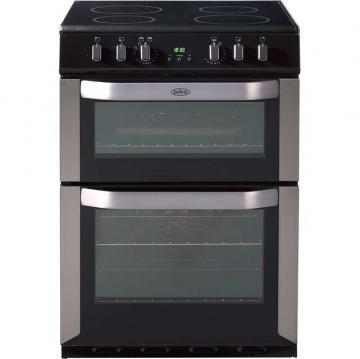 Belling FSE60DOP 60cm electric double oven with programmable timer